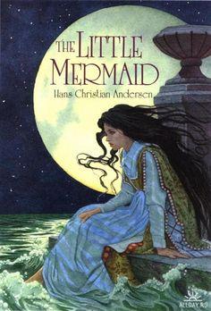 Little mermaid Mermaid Illustration, Children's Book Illustration, Korean Illustration, Book Illustrations, Andersen's Fairy Tales, Mermaid Fairy, Classic Fairy Tales, Morris, Fairytale Art