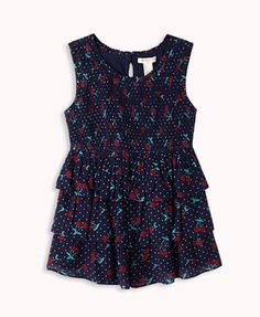 Polka Dot & Cherry Tunic | FOREVER21 girls - 2040496197