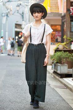 Street fashion @Harajuku, Tokyo, Japan