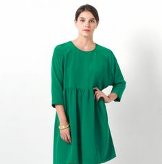 robe i am patterns I Am Patterns, Dress Sewing Patterns, Sewing Ideas, Sewing Projects, Merchant And Mills, Diy Vetement, Models, Chambray, Corduroy