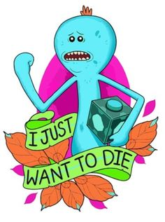 Rick and Morty x Mr. Meeseeks