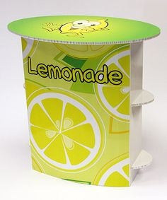 Loving this Yellow FunDeco Lemonade Stand on #zulily! #zulilyfinds