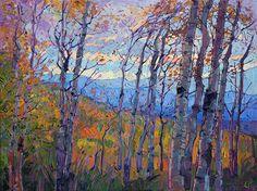 Utah Aspens Painting
