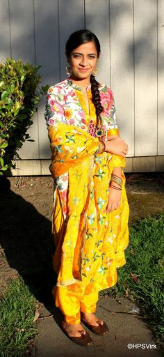 Phulkari in my favorite color http://huesnviews.blogspot.com/