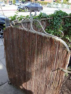 Chain link fence gate on pinterest chain link fencing fence and gate locks - Garden ideas to hide fence ...