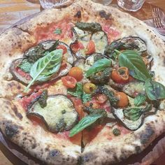Tonight's pizza @gigipizzeria was so amazing and the experience there just topped it off especially after listening to the owners inspiring speech at #sydneyveganfestival .  Me and @amandaducks are filming a Q&A for YouTube tomorrow. Ask us questions in the comments below about anything and we shall answer in an epic video  by fruity_befree