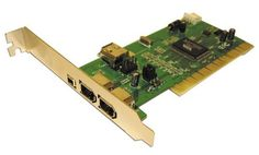 Q-Stor QPCCSFPCI FireWire PCI Adapter by Q-Stor. $18.88. Amazon.com                The QPS 3-Port IEEE 1394 FireWire adapter is a high-performance serial bus adapter card with a PCI interface. It provides three external ports for easily connecting peripherals to your PC. With serial bus transfer rates of up to 400 Mbps, the adapter ensures flexible, high-speed support for scanners, hard drives, printers, and multimedia devices such as IEEE 1394-compatible TVs, VCRs, DVD pla...