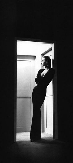 Christy Turlington for Anne Klein