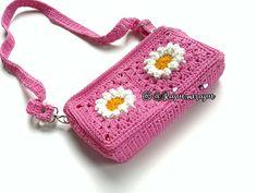 Daisy: crocheg bag for teenageer 🌼