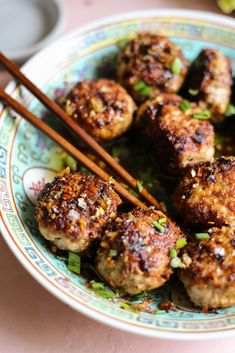 Wonton Recipes, Easy Appetizer Recipes, Quick Dinner Recipes, Whole 30 Recipes, Appetizer Ideas, Appetizers, Tasty Meatballs, How To Cook Meatballs, Healthy Foods To Eat