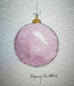 Painted Christmas Cards, Watercolor Christmas Cards, Christmas Drawing, Diy Christmas Cards, Noel Christmas, Christmas Paintings, Watercolor Cards, Xmas Cards, Diy Cards