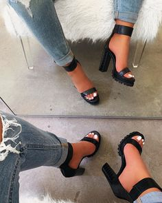 Shop Official Bee: The Latest Shoe Trends - FootWear Heeled Boots, Shoe Boots, Shoes Heels, Pumps, Black Heels, High Heels, Aesthetic Shoes, Cute Heels, Prom Shoes