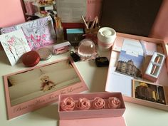 Lots of wonderful Langham gifts from Flavors, the Langham gift shop