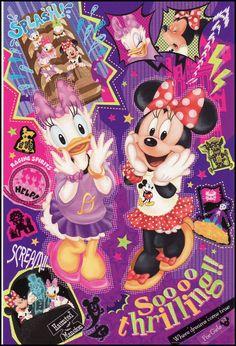 Daisy et Minnie Walt Disney Pixar, Disney Theme, Disney Fun, Disney Mickey, Disneyland Images, Disney Images, Disney Pictures, Disney Best Friends, Mickey Mouse And Friends