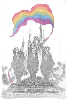 Harry Potter © Jim Lee/Love is Love