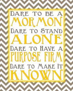 dare to be a Mormon-- President Monson Mormon Quotes, Lds Mormon, Lds Quotes, Religious Quotes, Spiritual Quotes, Great Quotes, President Monson, Later Day Saints, Church Quotes