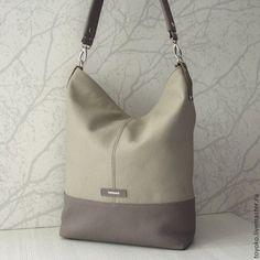 Женские сумки ручной работы. Ярмарка Мастеров - ручная работа. Купить  Inosenta мышиный цвет - 0e74798e158