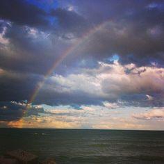Un arcobaleno all'improvviso