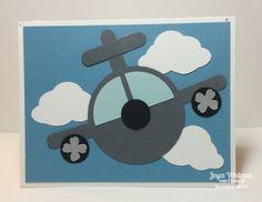 I thought I had posted all my cards from my Kids Card Class, but realized I didn't. I have this airplane and one more I will post later this week. This is an easy card to make for a boys birthday or a girl who loves airplanes. Grey Nursery Boy, Kids Birthday Cards, Card Birthday, Baby Boy Cards, Punch Art Cards, Baby Shower Decorations For Boys, Kids Cards, Stampin Up Cards, I Card