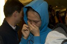 A relative of a Chinese passenger aboard the Malaysia Airlines MH370, cries after being told the latest update in Beijing, China, Monday, March 24, 2014. (AP Photo/Ng Han Guan) ▼24Mar2014AP|Malaysia: Missing flight crashed in Indian Ocean http://bigstory.ap.org/article/chinese-plane-spots-object-indian-ocean #mh370 #mas #B777200 #MalaysiaAirlines #Beijing