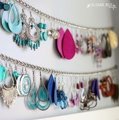 50 Dollar Store Closet Organization Ideas - Prudent Penny Pincher From organizing your bedroom closet to your cleaning closet, there are plenty of cheap dollar store closet organization ideas for your home. Linen Closet Organization, Jewelry Organization, Organization Ideas, Storage Ideas, Kitchen Organization, Earring Storage, Jewellery Storage, Closet Hacks, Closet Ideas