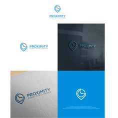 Proximity Logo Design by الغثني