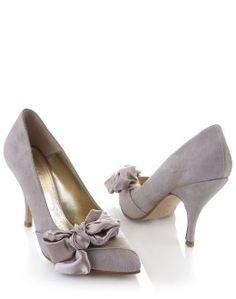charcoal grey wedding shoes
