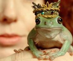 I want a crown for my frog!