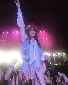 Florence + the Machine performing at the INmusic Festival in Zagreb, Croatia #HowBeautifulTour