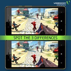 Can you spot the 3 differences in the two images?