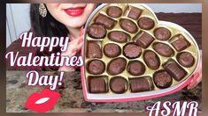 ASMR Happy Valentines day Chocolates (Whispering)  Eating Show