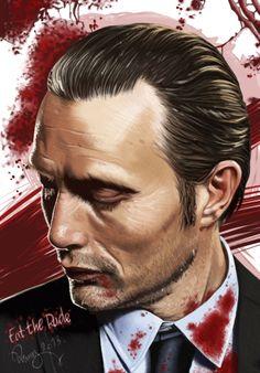 """Eat the Rude"". Mads Mikkelsen as Hannibal [2013]"