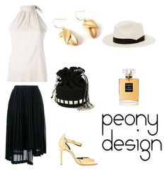 """Peony Design"" by teri-peony on Polyvore featuring Eleventy, N°21, Tomasini, Rupert Sanderson, Chanel and rag & bone"