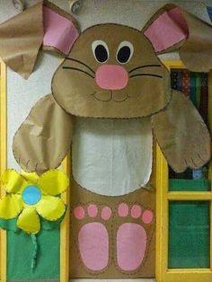 decoração de pascoa escola - Pesquisa Google