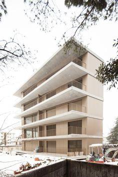 ON architecture . housing building LE CHÂTELARD . Clarens (1)