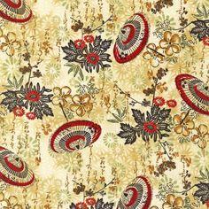 Robert Kaufman Fabrics: AHDM-8759-91 CRIMSON by Heidi Dobrott from Formosa