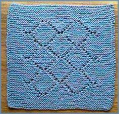 Free Knitting Pattern - Dishcloths & Washcloths : Lily Dish Cloth