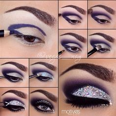 eyeshadow colorful pictorial - Google Search
