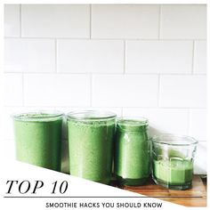 10 Smoothie Hacks You Should Try Today | Nutrition Stripped