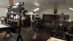 Gray's Printing Press, Strabane, Northern Ireland, U.K.  (National Trust Website)