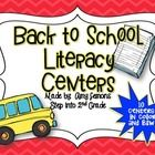 Getting ready to go back to school?  These literacy centers will kickstart your centers routine!  Each literacy center comes in color and B&W, ...