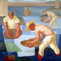 Projeto Portinari - 1951 . Cia. Equitativa de Seguros (painéis)