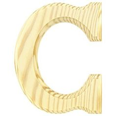 6 14 routed wooden letter c shop hobby lobby