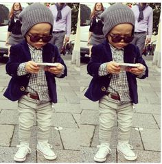 Stoere outfit voor een jongetje
