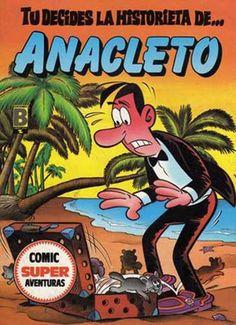 Cómic Super Aventuras Tú Decides la Historieta de... Anacleto