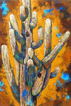 Diane Barbee, current paintings at Wilde Meyer Gallery Farm Paintings, Watercolor Paintings, Original Paintings, Cactus Painting, Cactus Art, Landscape Quilts, Landscape Art, Desert Art, Christmas Paintings