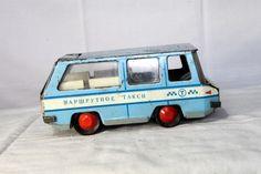 Vintage Russian Tin TAXI Toy Car МАРШУТНОЕ ТАКСИ 1960s | eBay