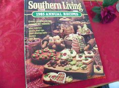 Vintage Southern Living 1985 Annual Recipes by MillersHollowGifts