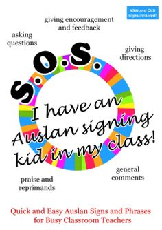 SOS I have an Auslan Signing Kid in My Class! e-book A great resource for teache… SOS I have an Auslan Signing Kid in My Class! e-book A great resource for teache…,Other Sign Languages. Simple Sign Language, Sign Language For Kids, Sign Language Phrases, Sign Language Interpreter, Learn Sign Language, Australian Sign Language, Australia For Kids, Classroom Signs, Picture Dictionary