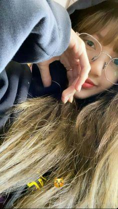 Lisa with glasses💫 Bebe Love, Girlfriend Videos, Rapper, Black Pink Songs, Lisa Blackpink Wallpaper, Kim Jisoo, Blackpink Photos, Blackpink Fashion, Jennie Blackpink